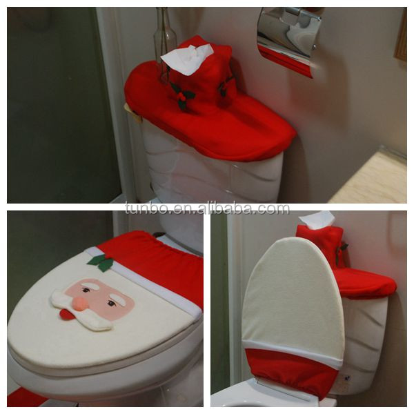 Lavatory christmas decoration wc christmas decoration wc for Decoration wc
