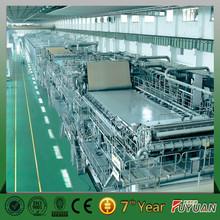 high speed rice straw / bagasse/ bamboo pulp fluting machine China