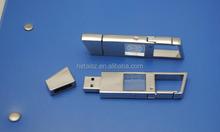 Wholesale custom 3D crystal usb memory sticks, Bulk 3D Laser Engraving Crystal USB sticks 8GB with company logo, Led light usb