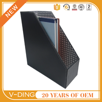 v-ding from china supplier 2016 new best sell products suitable for Desktop office supplies leather box file