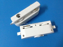 2wire/3wire/4wire track light adapter/connector for track lighting railway