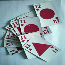 Popular retail playing card poker in store