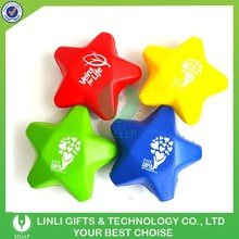 Hot Selling Squeeze Soft Promotional PU Star