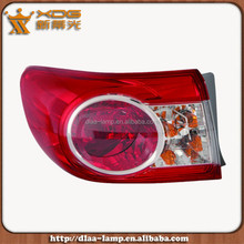 Good quality and price corolla car body parts, car light, tail lamp parts for corolla 2003