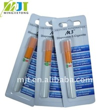 hot selling product 2012 85mm mini disposable electronic cigarettes new design 300 puffs ,500puffs