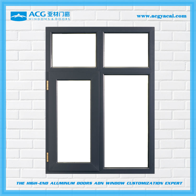 2015 best new design thermal insulated aluminium window for Best insulated glass windows