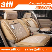 Ice silk leather car seat covers With armrest