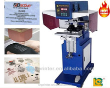 Two color high speed Tags pad Printer PM2-100-2PT professional printing garment series