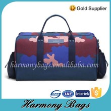 Durable facric men camo weekend new stylish travel bag