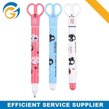 Multifunction Scissor Multi Purpose Plastic Ball Pen
