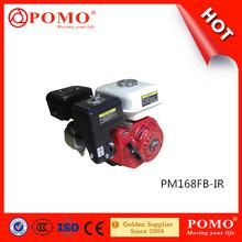 China Popular Económico 6.5 HP Motor de Gasolina