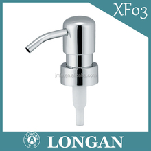 hot sell durable metal pump for Soap and Lotion ,shampoo pump