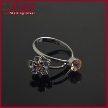 silver jewelry cock and ball penis ring Women's with great price