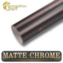 Premium PVC Sticker Grey Matte Metallic Chrome 1.52*20m