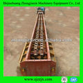 Enterrado sistema de transporte raspador de materiales en polvo o planta de cemento