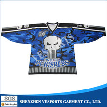 Full Digital Sublimation ice hockey practice jersey