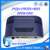 2-port wifi ftth epon fiber wireless ethernet switch with voip