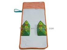 New design portable diaper changing mat for children,anti-rolling mat
