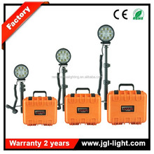 Heavy duty camping lantern stand RLS24W remote area search light LED military operation lighiting