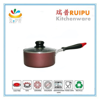 TOP SELLING! Multi-color Non-stick cut edge induction bottom forged cookware enamel cast iron& cookware baby cookware set