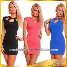 One Piece Girls Party Dresses 2015 New Product Lady Summer Dresses Tops Loose Cotton Sleeveless spring Latest Dress Designs
