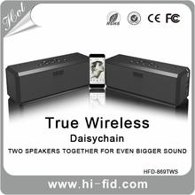 Wireless Speaker, Portable Bluetooth Stereo Speaker with 2 X 5W Speaker Enhanced Bass Resonator