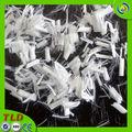 fibra de poliester sólida fibra de poliéster para el hormigón