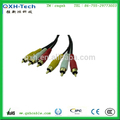 высокое качество 3.5 мм стерео муёчина дёек для 3 rca кабель