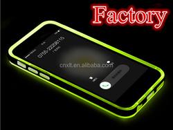 Factory selling directly calling flash TPU+PC combo phone case for iphone 6 case