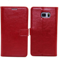 Phone Case For Samsung Galaxy Note 5 / PU Leather Flip For Note 5 / Credit Cards Leather Case For Samsung Galaxy Note 5
