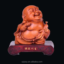 Chinese Religious Crafts Laughing Buddha Statue For Sale
