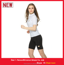 2015 New design factory wholesale sublimation Compression Wear Tights Women Compression T Shirts