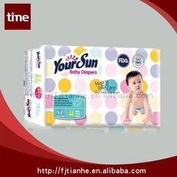 YOUR SUN Super Soft Disposable sleepy baby diaper manufacturers in china