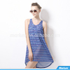 2015 Factory Design Wholesale Women Cool Patterned Beach Smock