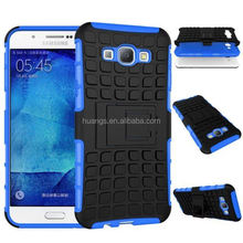 2015 Original Heavy Duty PC + Slicion Anti-Shock Combo stand anti dirt cover for Samsung Galaxy A8 wholesale