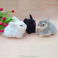 2015 wildlife realistic furry wholesale christmas furry rabbit
