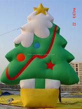 Latest design giant inflatable christmas tree