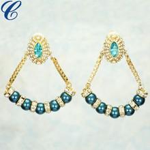 Pearl Earring Set Indian Traditional Women Wear Jewelry