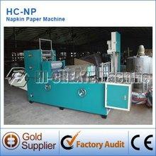 Hc-np nuevos productos en el mercado de china de la servilleta de papel máquina de grabación en relieve