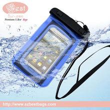 wholesale waterproof cell phone neck hanging bag