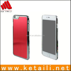 Made in China Cheap Plastic Electroplating Mobile Phone Cover for iPhone 6 Plus
