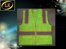 Hi Viz ANSI Reflective Safety Vest