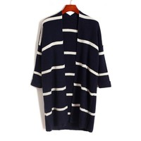 2015 wholesale women winter coats jackets stripe long sleeves cheap winter jackets