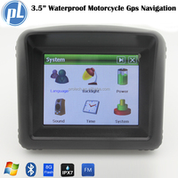 """Wholesale motorcycle gps navigation 3.5"""" touch screen waterproof navigation for motorcycle built 8G flash gps Vietnam free map"""