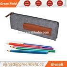 Atacado feltro tecido pecil bag barato lápis de tecido sacos