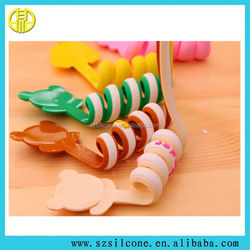 Mixed Cartoon images Pattern fashion cute silicone cable winder