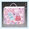 2015 Hot new products pink baby paper bag & gift paper bag with handles