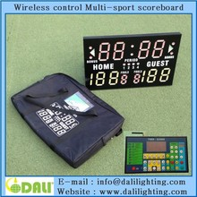 wireless remote 24/14 shot clock basketball scoreboard