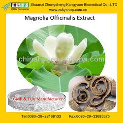 GMP manufacturer supply 100% natural Magnoliae Extract Magnolia / Honokiol