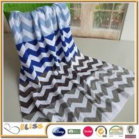 BSCI & SEDEX Certificated Factory baby blanket crochet patterns 2 colors
